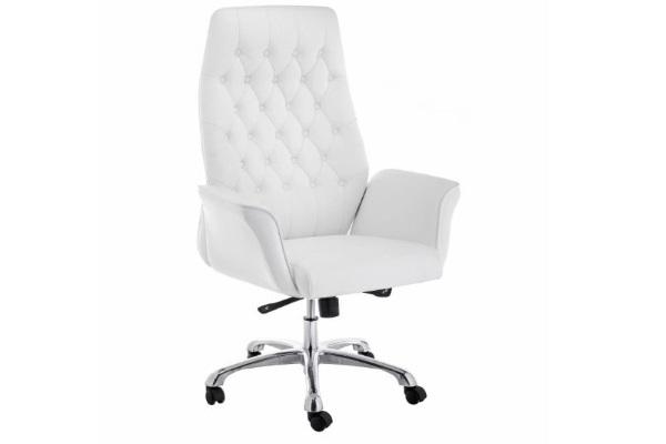Компьютерное кресло Trivia белое купить в салоне-студии мебели Барселона mnogospalen.ru много спален мебель Италии классические современные